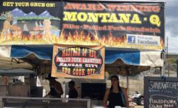 Montana Q booth front