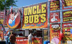 Uncle Bub's BBQ booth